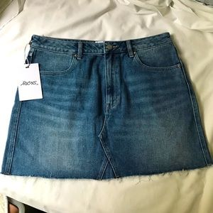 Riders by Lee Denim Skirt Size 14 New With Tags